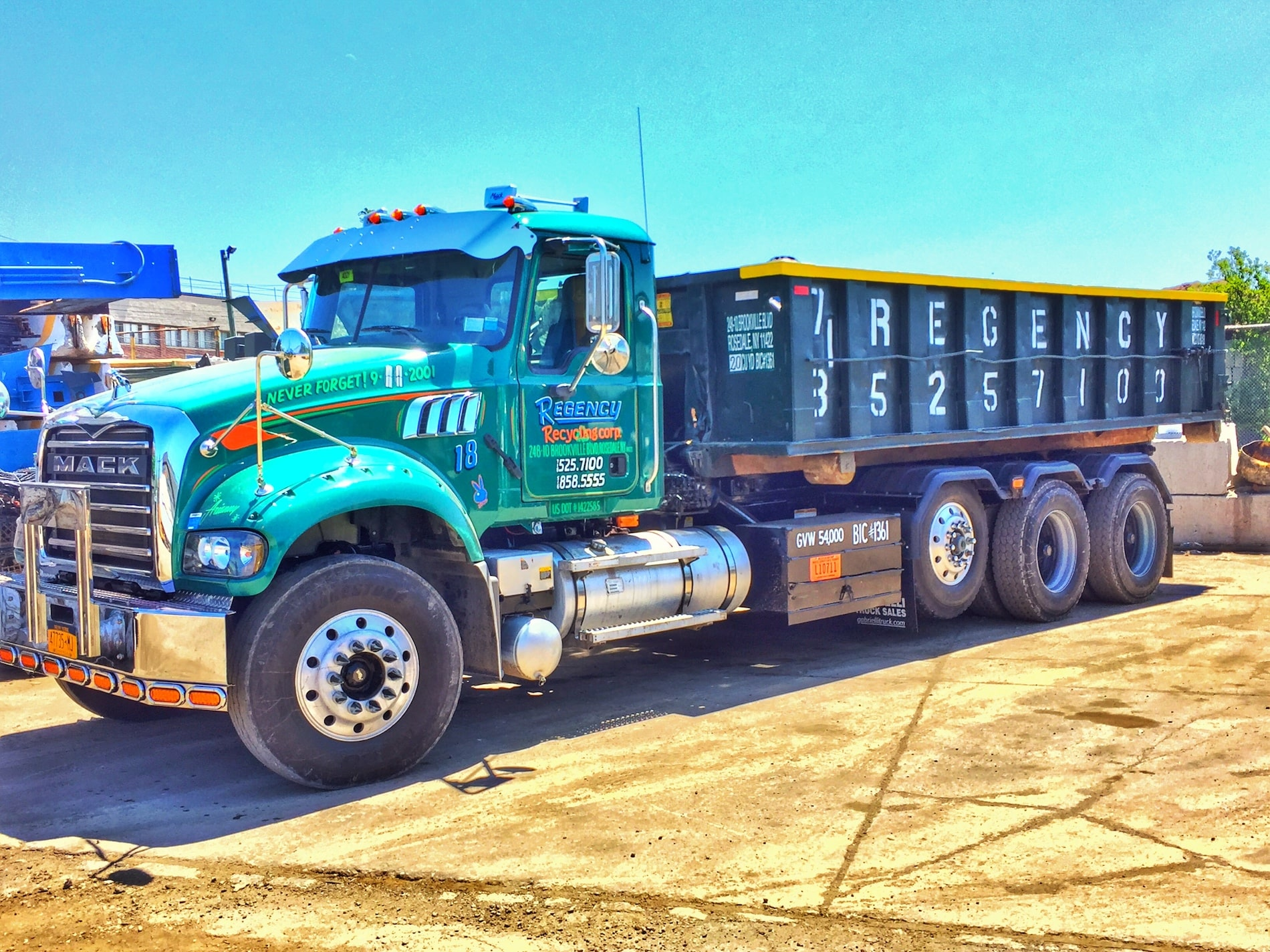 dumpster rental truck queens new york