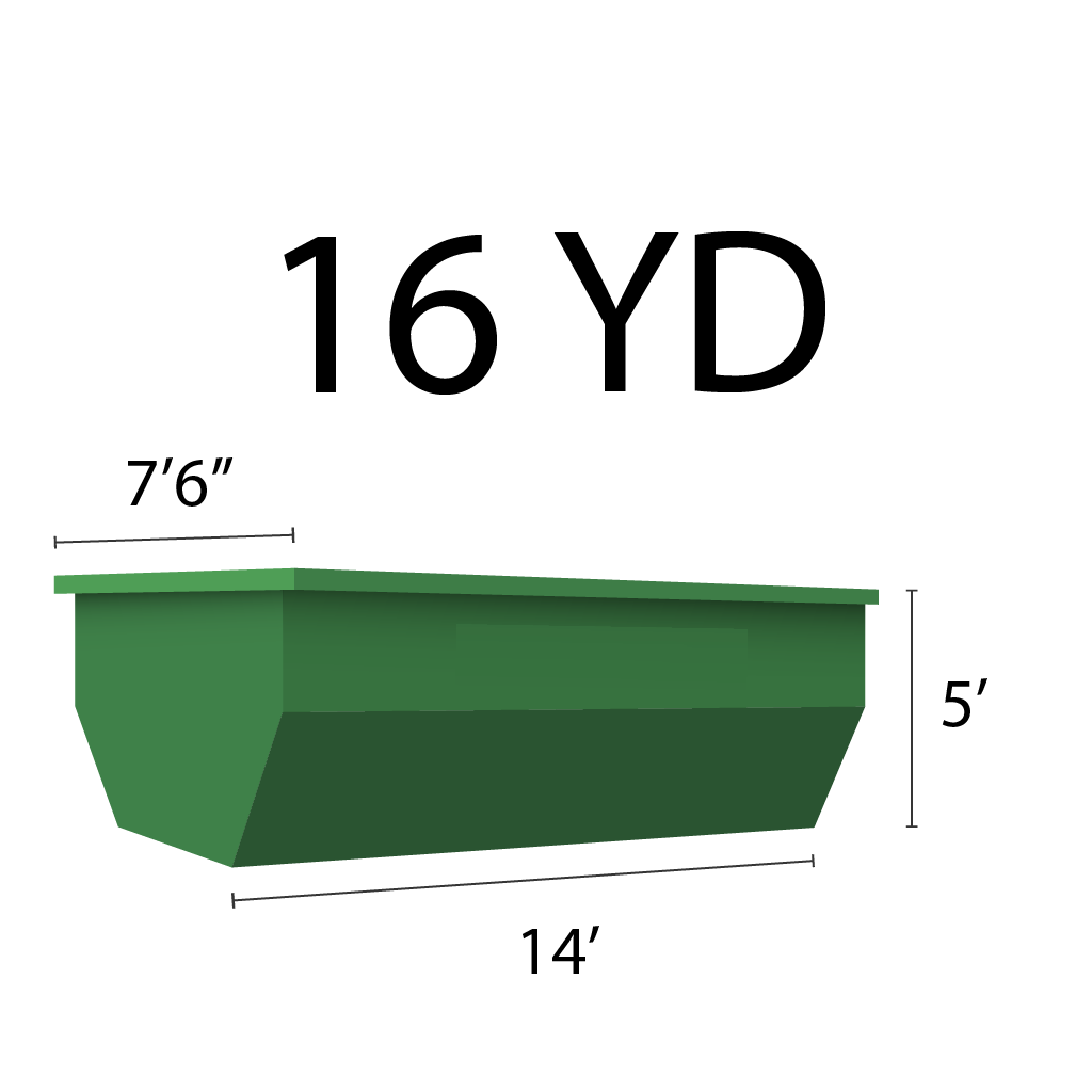 Image of dumpster: 16YD Roll-Off